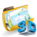 3D Photo or Video Gallery icon