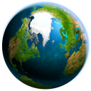 Earth 3D icon