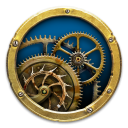 Mechanical Clock 3D icon