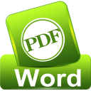 Convert PDF to Word icon