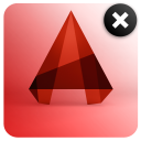 Remove AutoCAD 2014 icon