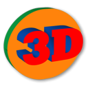 3D Text icon