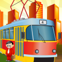 Tram Tycoon Free - Transport Them All! icon