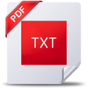 PDF to Text Plus icon