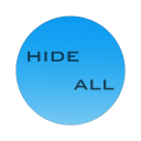 Hide all icon