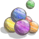 Crayon Ball icon