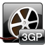 iCoolsoft 3GP Converter for Mac icon