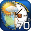 Accurately Timed Weather icon