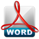 PDF to Word Converter for Mac icon
