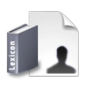 User Lexicon Editor icon