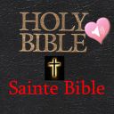Holy Bible Audio Book in French and English icon