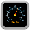 Mile Km icon