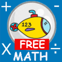 Submarine Math lite icon