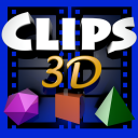 Clips 3D for iMovie icon