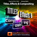 MPVs Final Cut Pro X- Titles Effects and Compositing icon