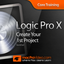 Course for Logic Pro X - Create Your First Project icon