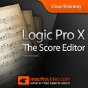Score Editor in Logic Pro X icon