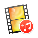Modify Video - Text And Music icon