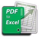 PDF to Excel icon