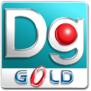 Dg Foto Art Gold icon