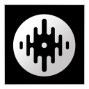Serato DJ version 1.0.0, Copyright 2012 Serato Audio Research. icon