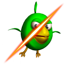 Cut the Birds 3D icon