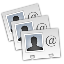 Export Address Book icon