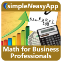 Math for Business Professionals - A simpleNeasyApp by WAGmob icon