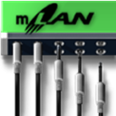 mLANGraphicPatchbay icon
