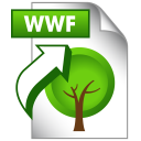 SAVE AS WWF icon