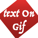 Text On GIF icon