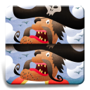 My first find the differences game: Pirates icon
