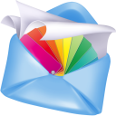 Stationery for Mail icon