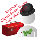 Business Clipart Super Duper Collection 3000 icon